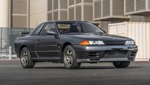Cette rutilante Nissan Skyline R32 GT-R de 1989 est à vendre aux enchères