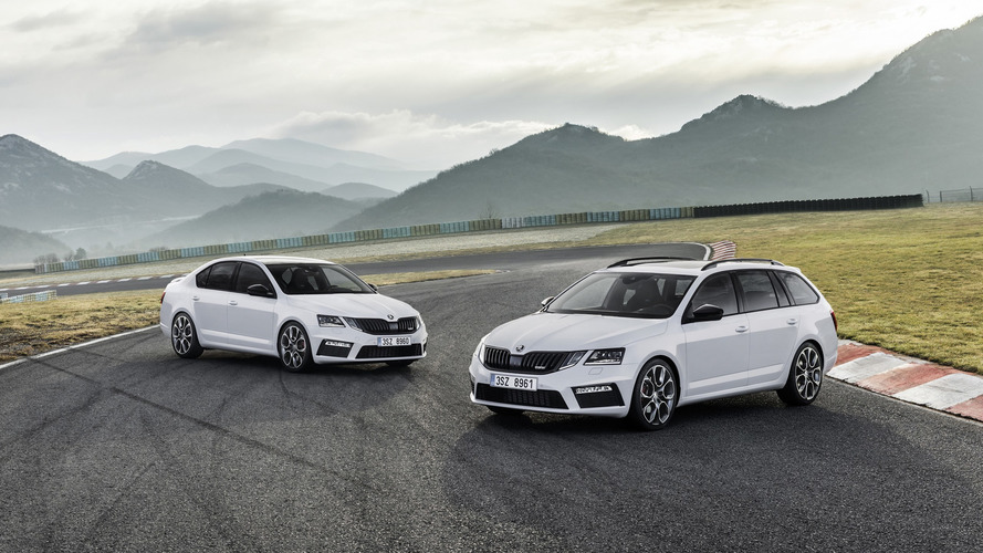 2017 Skoda Octavia RS facelift makes video debut