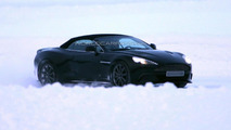 Aston Martin Vanquish Volante spied [video]