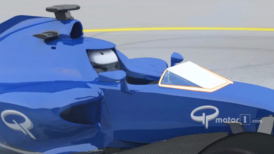 Video analysis: Formula 1's active windscreen system
