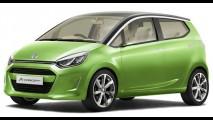 Daihatsu revela o moderno A-Concept - Protótipo tem consumo de 30 km/litro
