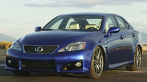 Lexus IS-F to Make European Debut