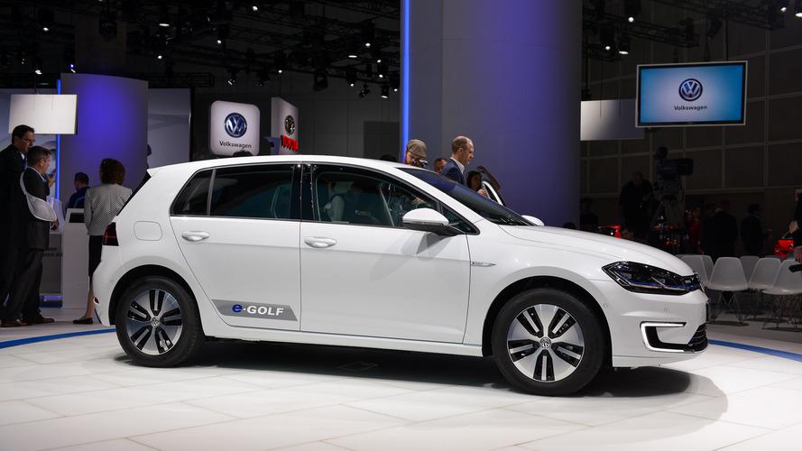 2017 Volkswagen e-Golf gets longer range, more power