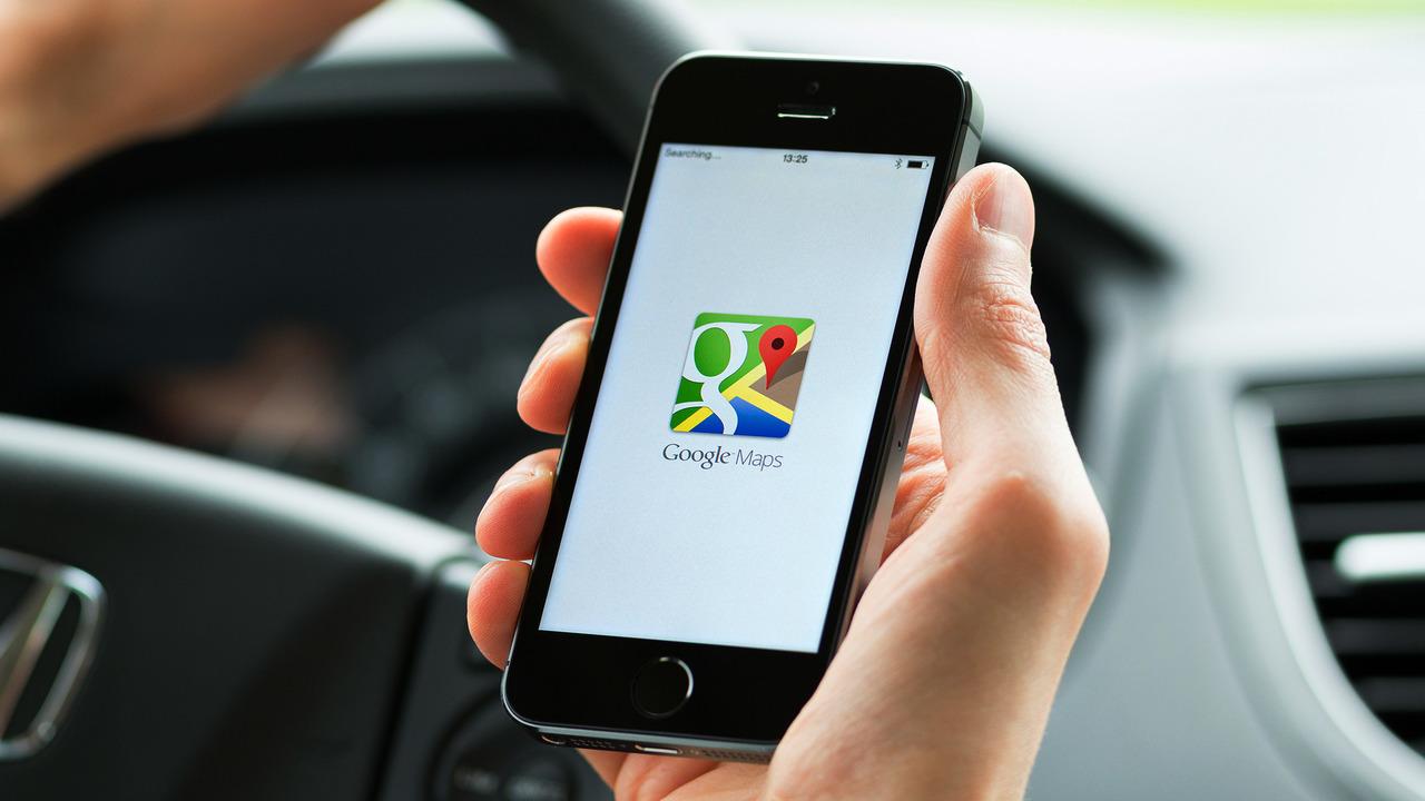 Google Maps Generic Smartphone