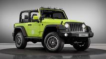 Mondial de Paris - Les Jeep Wrangler et Renegade personnalisés par Mopar