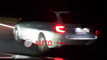 Skoda Octavia facelift screenshot from spy video