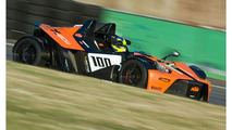 KTM X-Bow GT4 testing at Monza