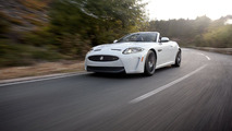 Jag XKR-S Convertible On Ice [video]