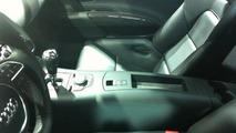 Audi R8 e-tron interior spy photo - 04.1.2012