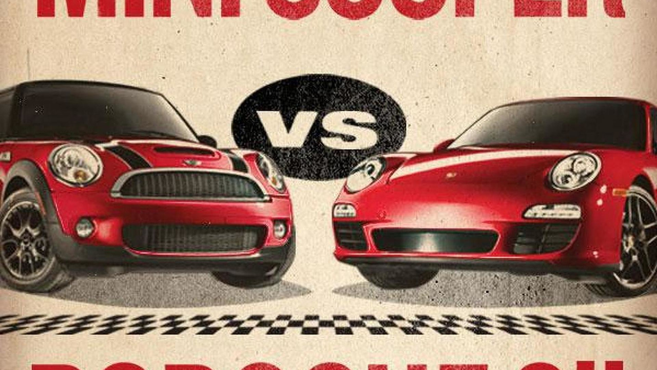 MINI vs Porsche promo illustration, 600, 17.06.2010