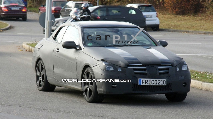 Mercedes E Class Coupe Convertible Spy Video