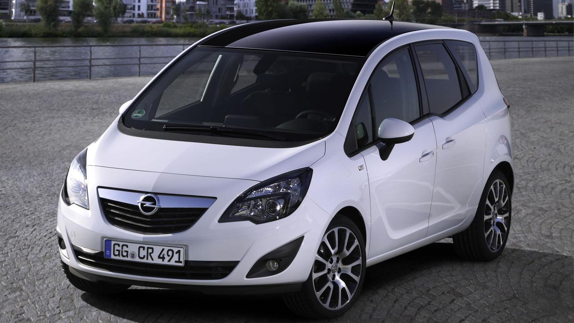 Opel Meriva Design Edition revealed