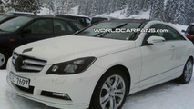 Mercedes E Class Coupe Caught Almost Undisguised