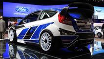 Ford Fiesta WRC live in Paris 30.09.2010