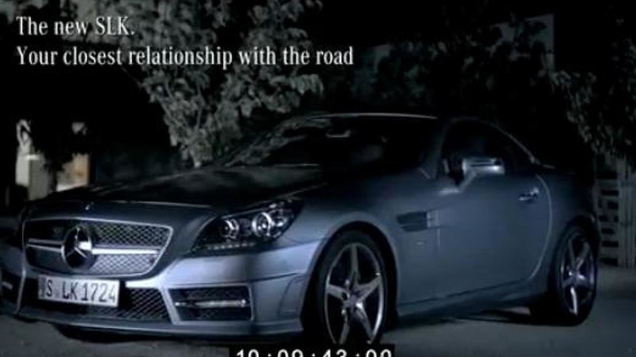 2012 Mercedes SLK promotional video leak - 12.3.2010