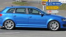 More Audi RS3 Mule Spy Photos at Nürburgring