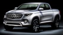 Mercedes pickup rumored for Paris debut