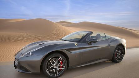 Ferrari California T Deserto Rosso showcased [video]