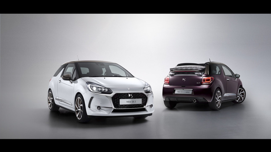 2016 DS 3 & DS 3 Cabrio facelift unveiled