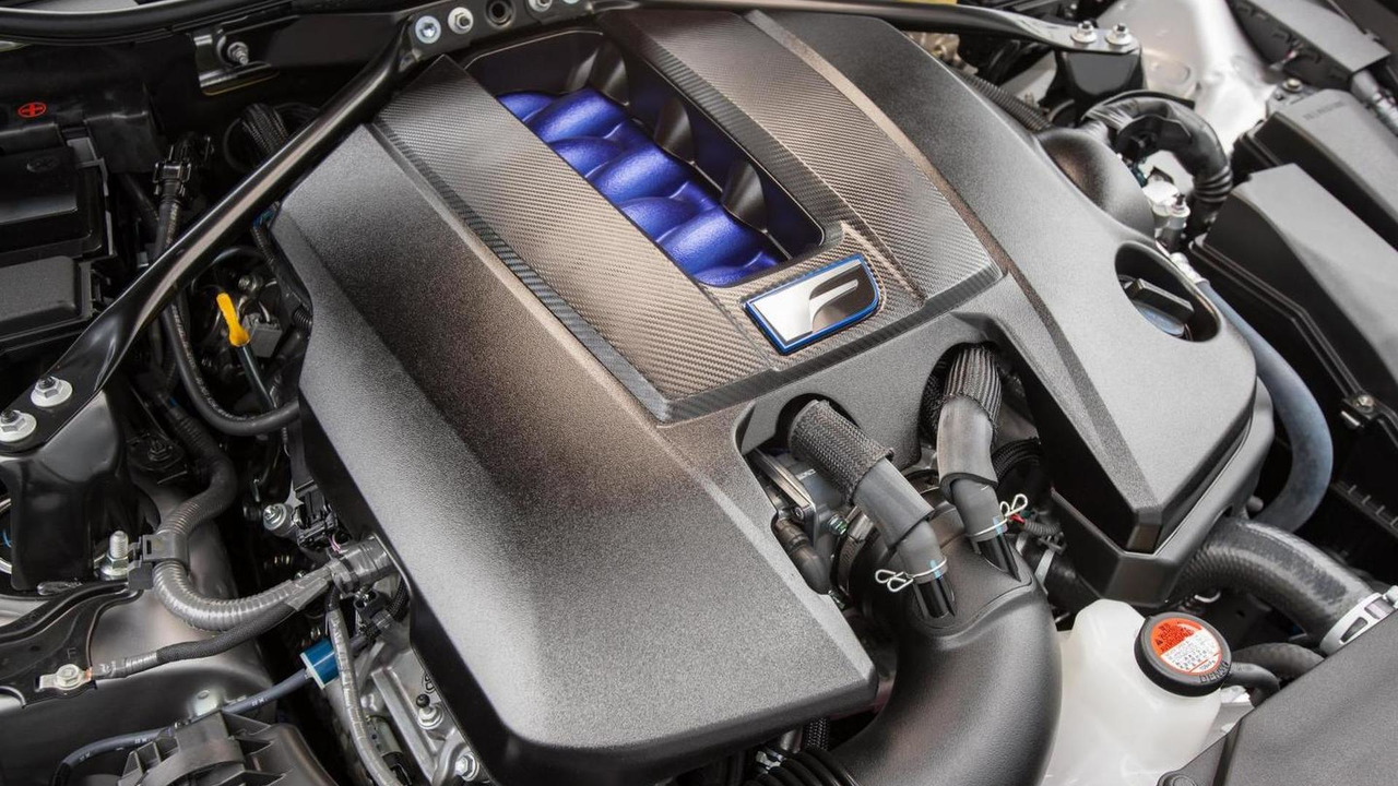 Lexus RC F V8 5.0 engine