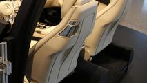 C-Class Cabriolet interior exhibited at Mercedes-Benz Museum