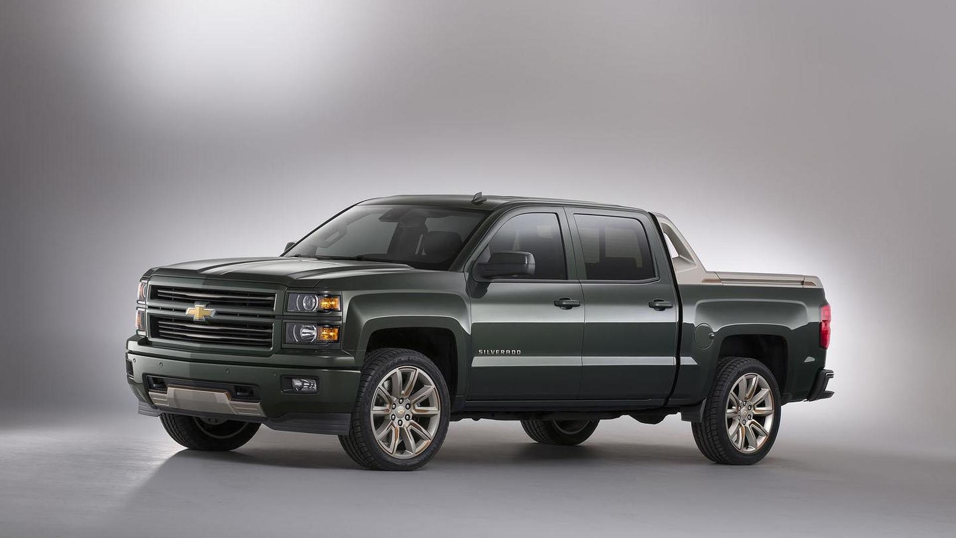 Chevrolet Silverado High Desert & Tahoe / Suburban Premium Outdoors concepts unveiled