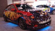 Halloween Subaru Impreza WRX at SEMA