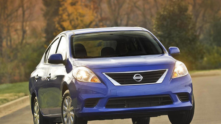 2014 Nissan Versa Sedan priced from 11,990 USD, cheapest car in U.S.