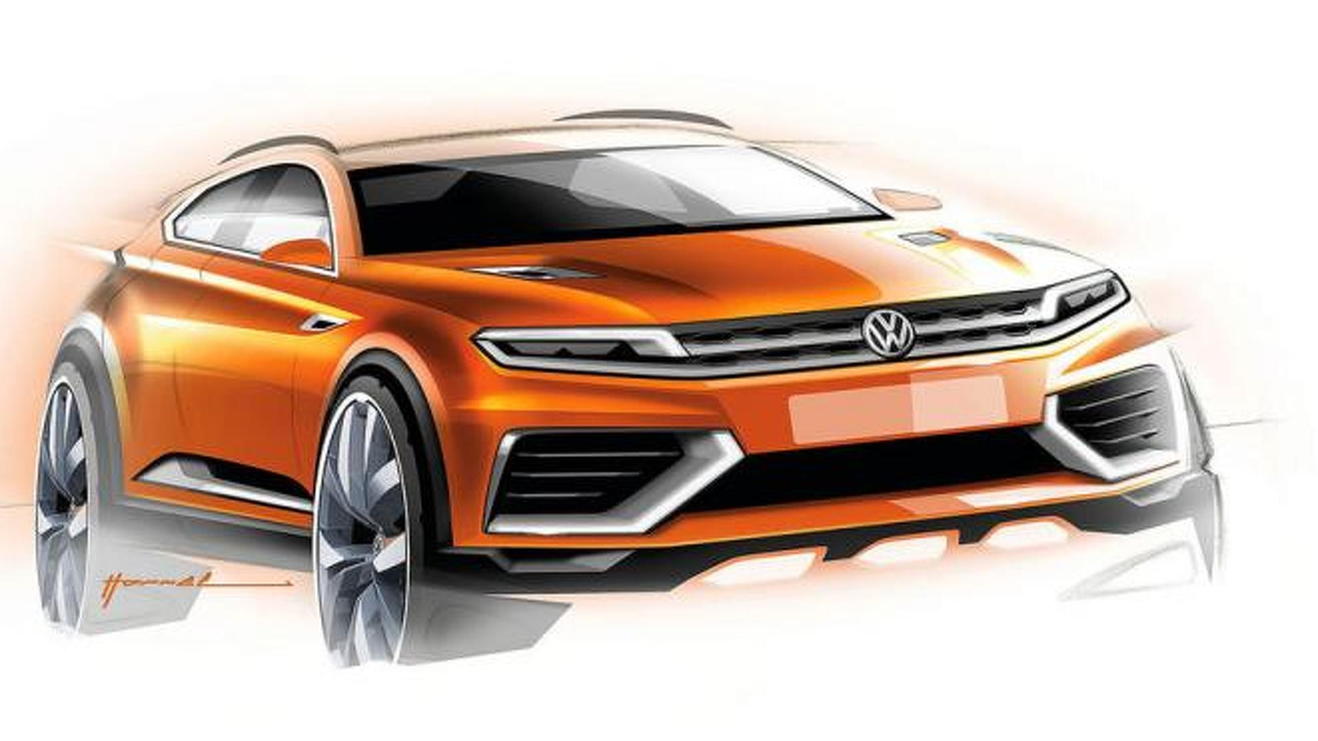 Volkswagen to introduce a new crossover concept in Detroit
