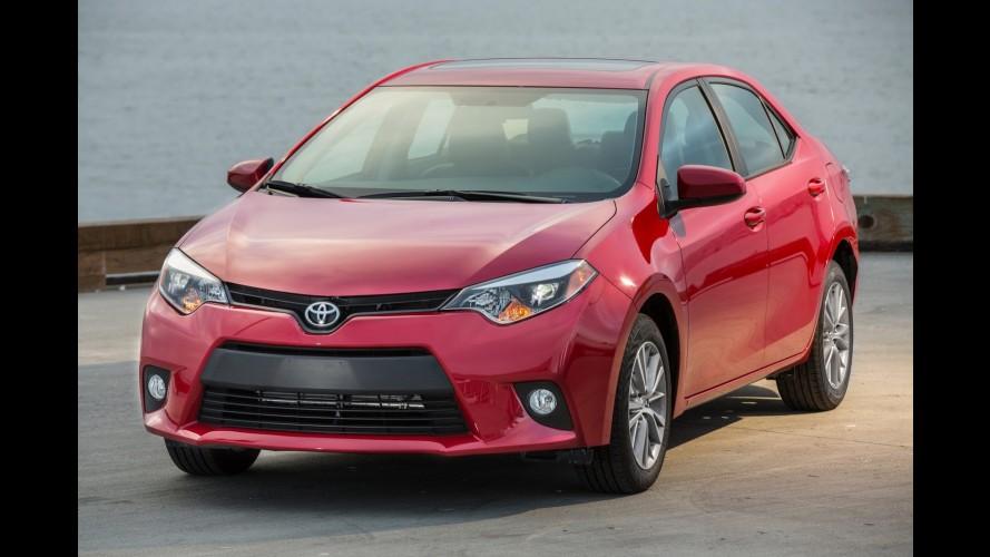 Galeria: novo Corolla 2014 custa o equivalente a R$ 39.850 nos EUA