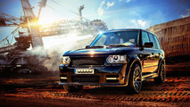 Bulgarian and British tuners get together for Range Rover project