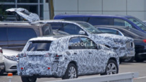2018 Mercedes GLE spy photo