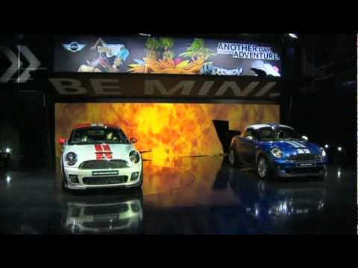 2012 Mini Coupe - 2011 Frankfurt Motor Show Video