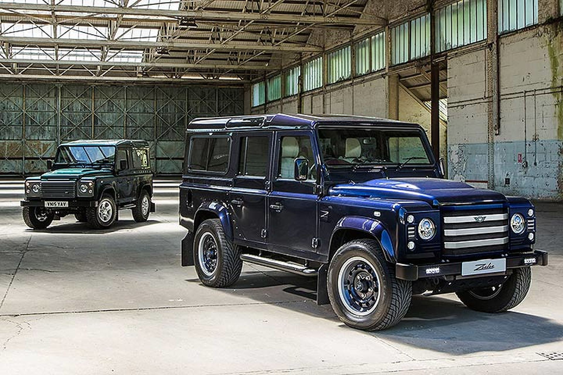 British Company Turns Land Rover Defender into a 475-HP Super-SUV