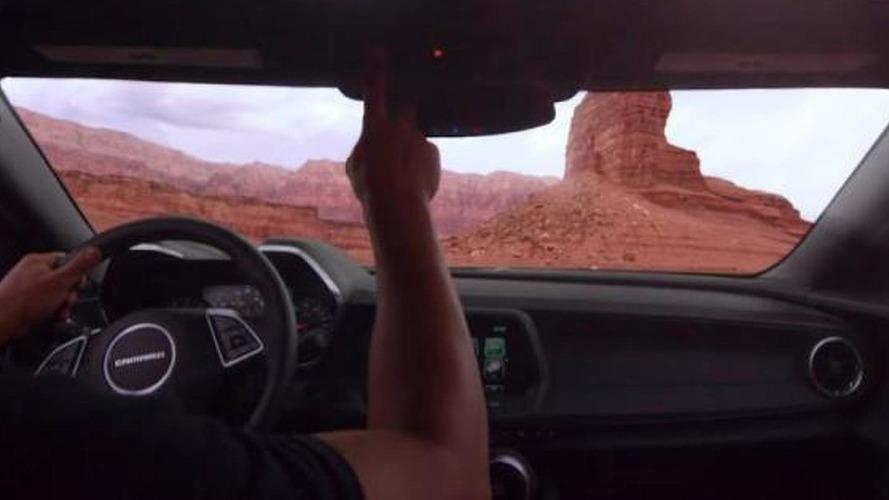 Chevrolet Camaro Convertible teased prior to June 24 debut [video]