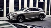 Euro-spec Lexus RX gets previewed ahead of Frankfurt