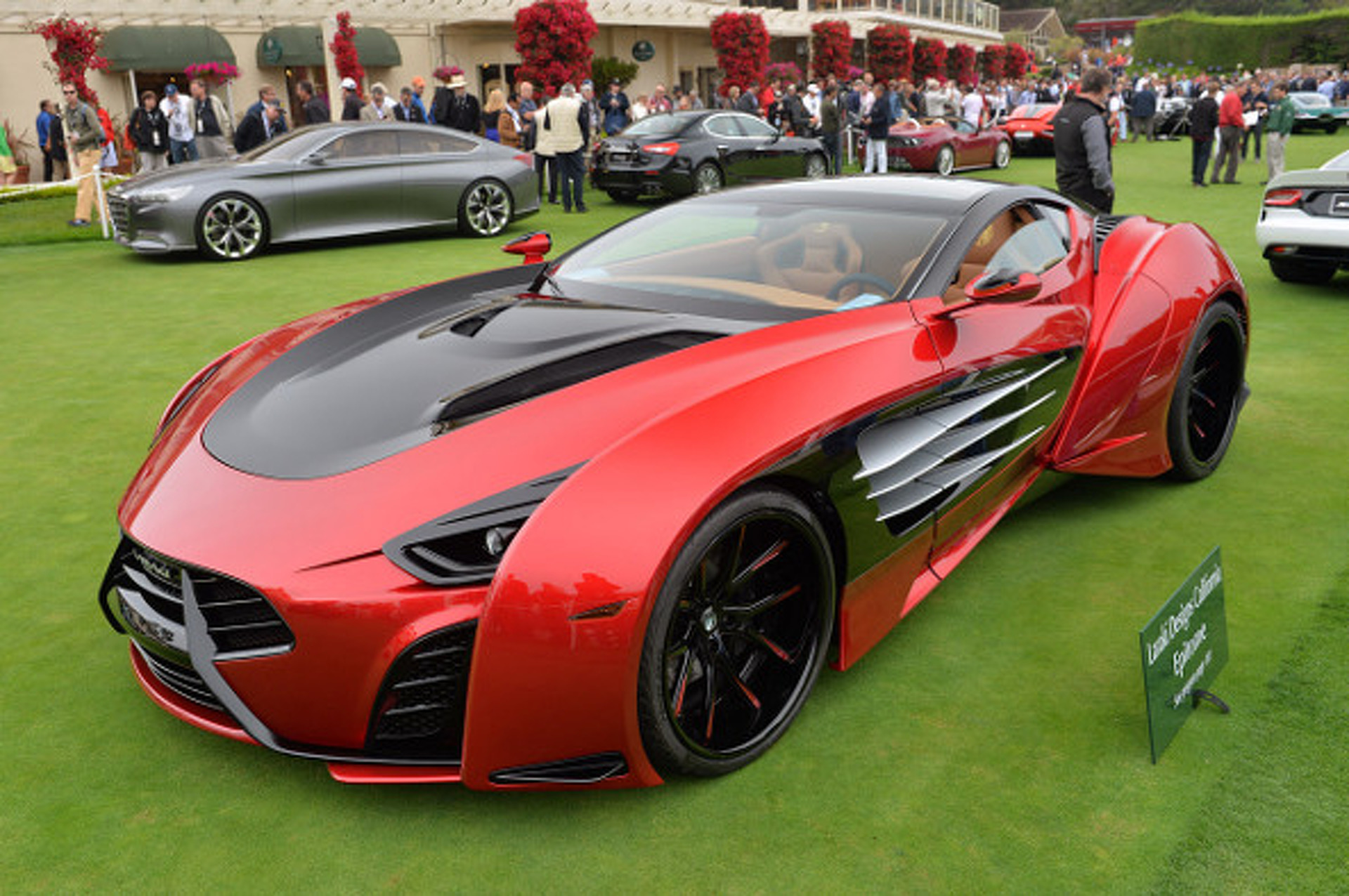 Supercars that Graced the Lawn of Pebble Beach