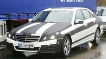2010 Mercedes E-Class spy photo