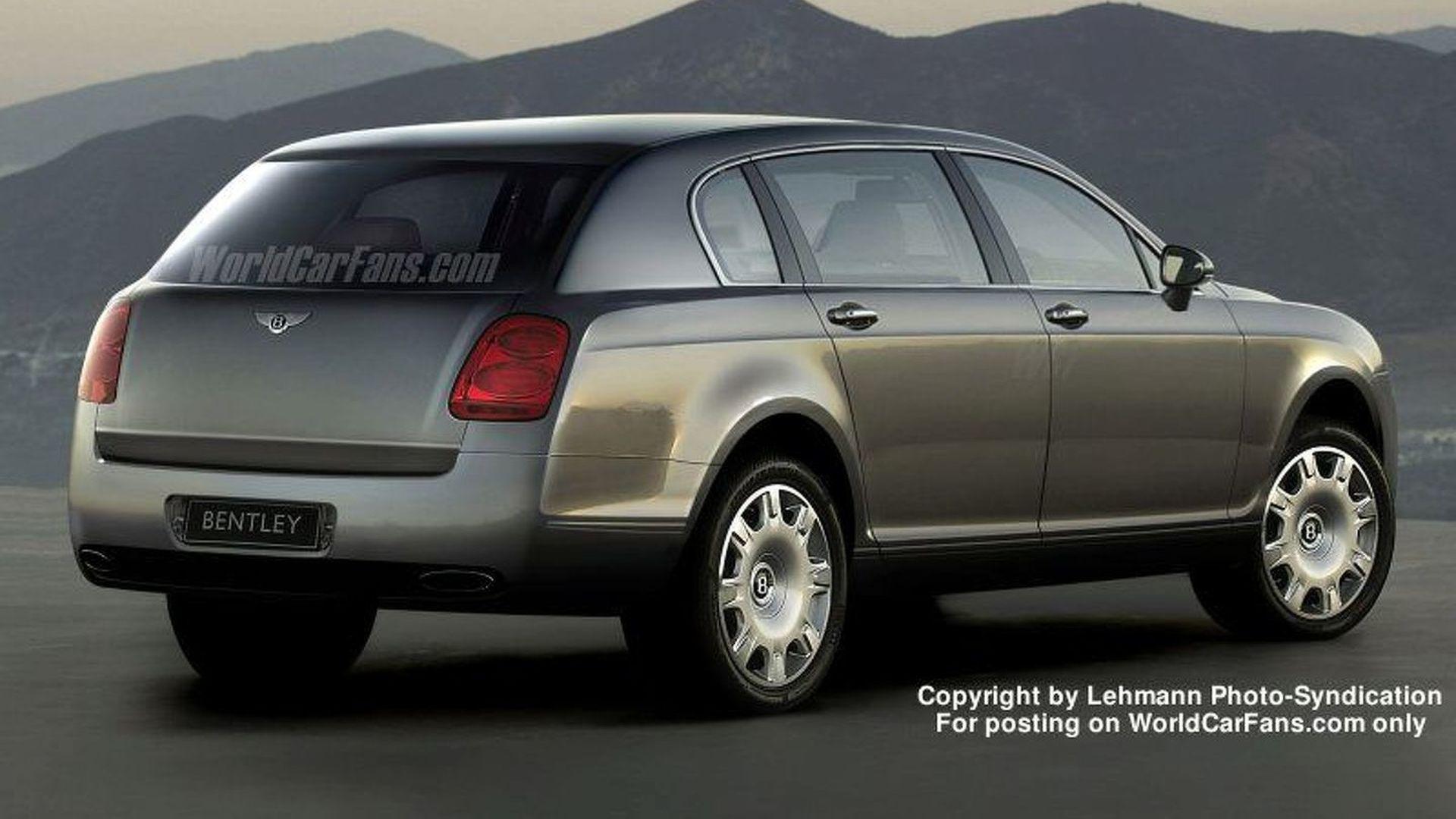 Spy Photos More New Bentley 4x4