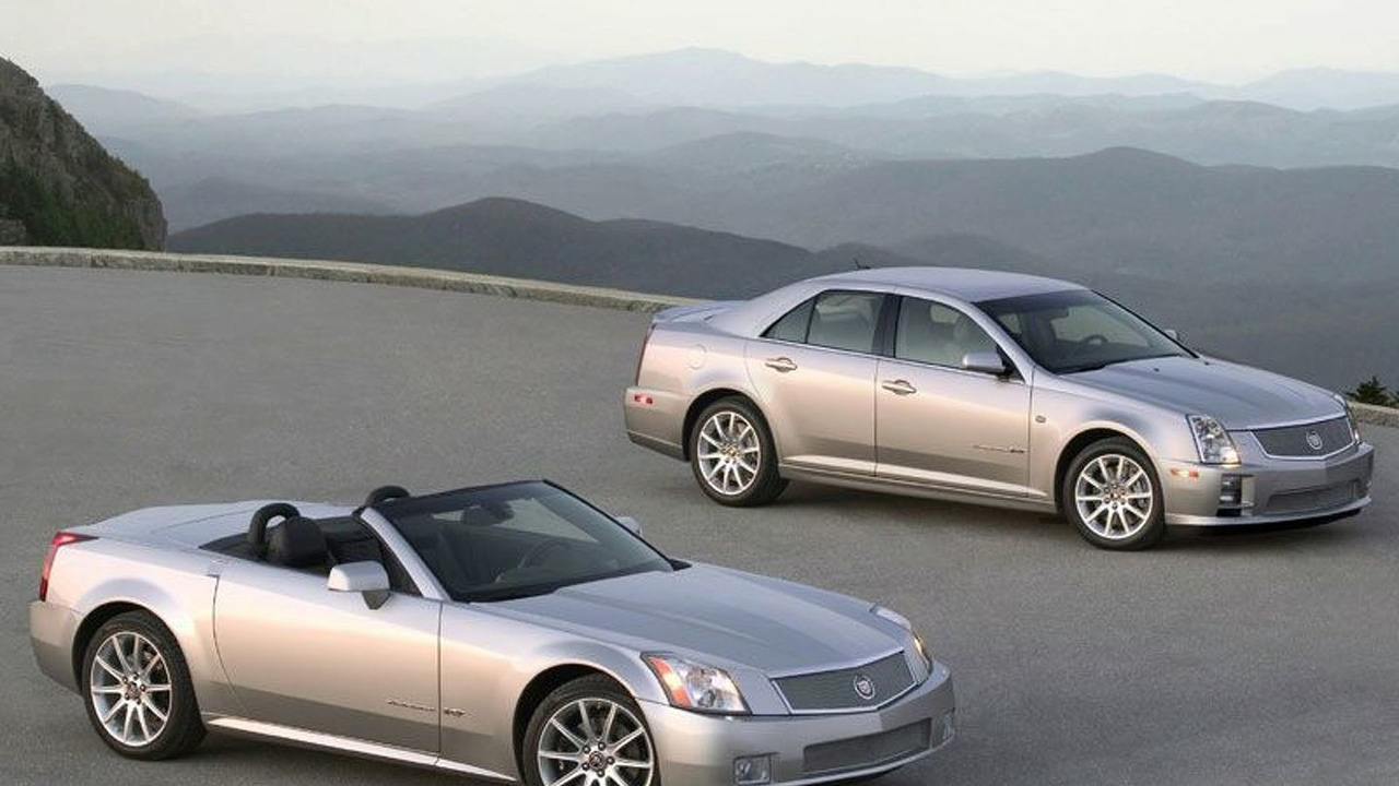 2006 Cadillac STS-V and XLR-V