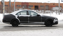 2013/2014 Mercedes S-Class prototype spy photo