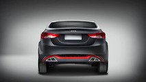 Hyundai Elantra by DC Design 10.07.2013