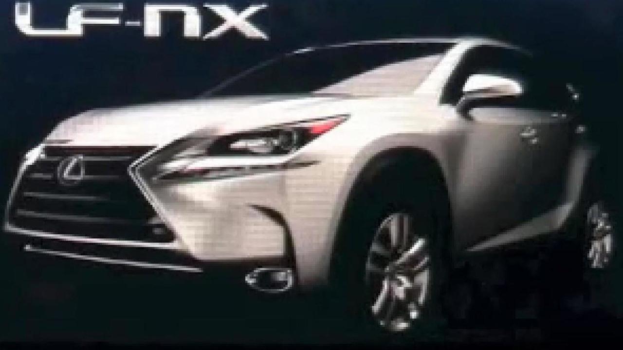Lexus LF-NX production version (not confirmed)