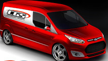 CGS Motorsports Ford Transit Connect for SEMA 25.10.2013
