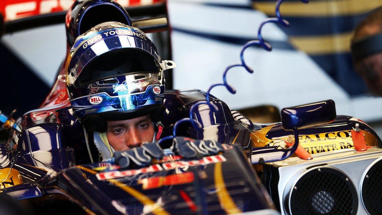 Jean-Eric Vergne 19.07.2013 Formula One Young Drivers Test, Day 3, Silverstone, England