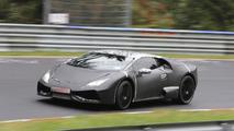 Lamborghini Cabrera shows first interior details in new spy photos