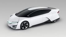 Futuristic Honda FCEV concept unwrapped in Los Angeles [videos]