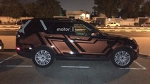 New Land Rover Discovery photographed by reader inside and out