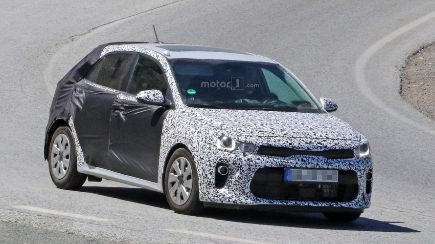 2017 Kia Rio drops some camo to reveal aggressive front