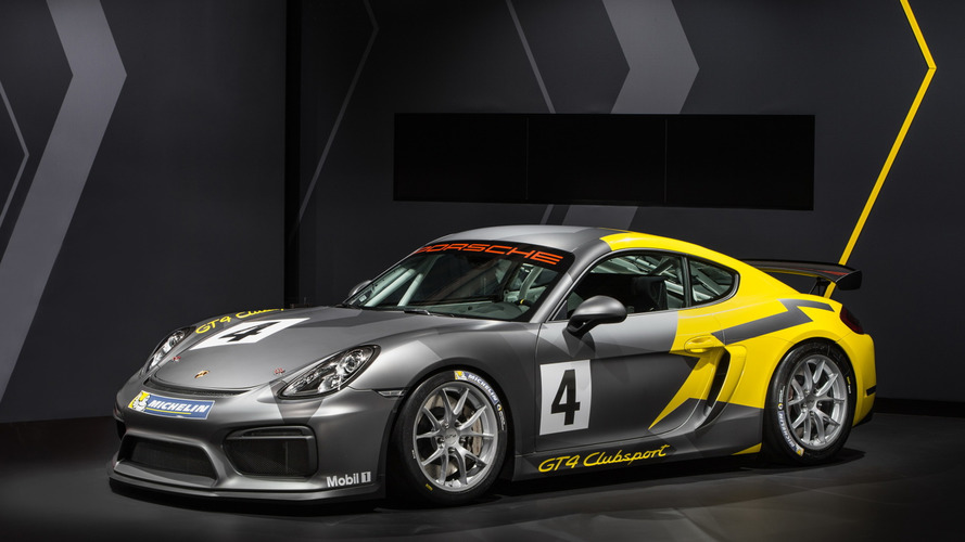 Porsche Cayman GT4 Clubsport new promo boosts desirability [video]